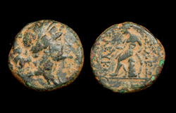 Seleucid, Seleucus III, Artemis and Apollo