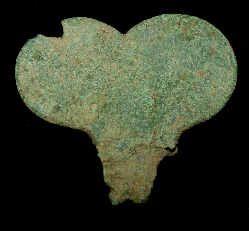 Harness Pendent, Heart-shaped, c. 1st Cent.