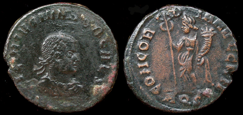 Licinius II (Jr) Concordia Issue