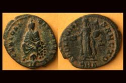 Antioch, Anonymous City Issue; Tyche, River God and Apollo