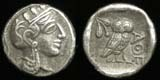 Athens, Drachm, 5th Cent Replica