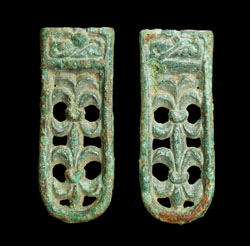 Avar, Belt End, Open work, c. 7th-8th Cent AD