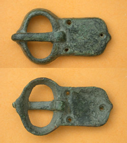 Avar, Belt Buckle, C 6th-7th Cent AD