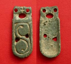 Avar, Strap End, c. 8th Cent AD