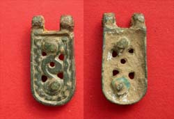 Avar, Belt End, c. 8th Cent AD