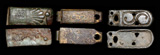 A Trio of Avar Strap Decorations, c. 8th Cent AD