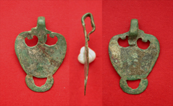 Harness Pendent, Pelta, c. 1st-2nd Cent. AD Sold!