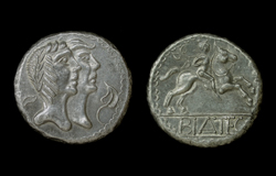 Celtic, Tetradrachm Danubian Tribes, Tin Replica