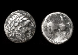 Danube Celts, Sirmium, AR Tetradrachm, 2nd Cent BC