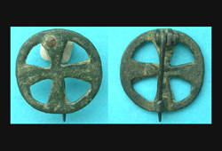 Brooch, Celtic, Wheel-type, 3rd-1st Cent BC, Rare