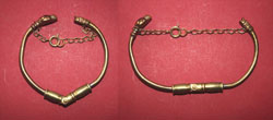 Bracelet, Zoomorphic Celts, Restored