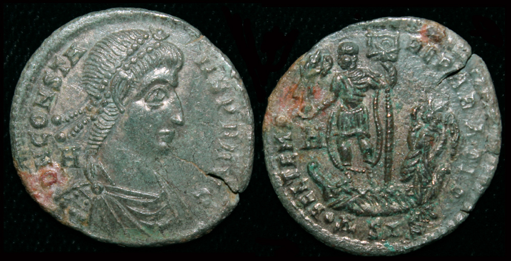 Constans, Æ 2, Siscia Mint, Scarce Issue