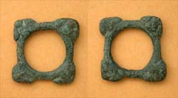 Celtic Proto Ring Money, Multiple Lugs, c. 600-400 BC