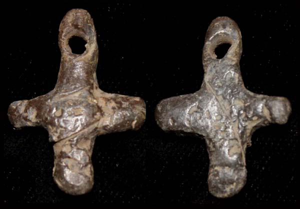 Cross, Dawn of Christianity, Hand-forged, Scarce