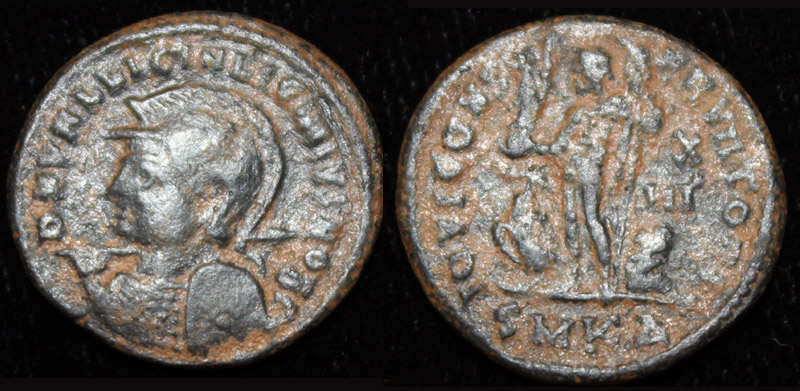 Licinius II (Jr), Helmeted Issue