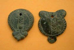 Avar, Belt Mount, 2-Pack, 7th-8th Century