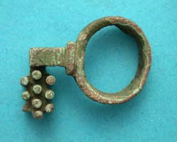 Ring Key, circa 2nd-3rd Cent AD, Rare Type! SOLD!