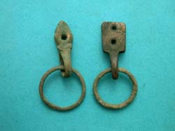 Belt or Strap Fittings, with Suspension Rings, c. 1st Cent., 2-Pack!