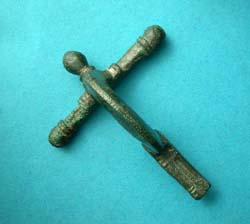 Fibula, Crossbow, Early Form, 3rd Cent