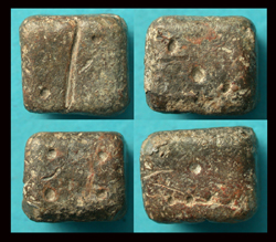 Dice (Die), Gambling, Lead, c. 1st-3rd Cent