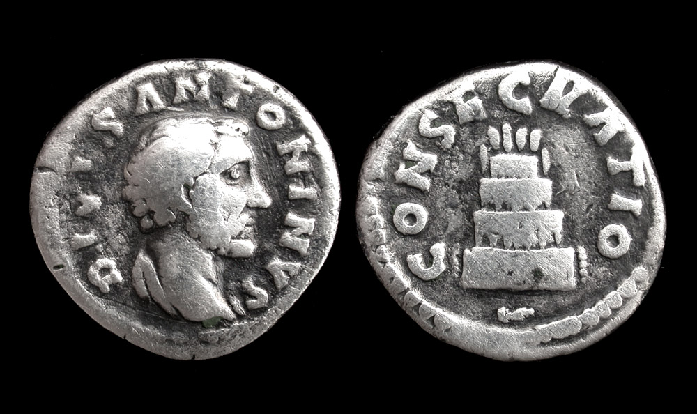 Antoninus Pius, AR Denarius, Commemorative Issue