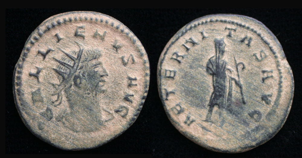 Gallienus Antoninianus, Scarce Samosata Mint