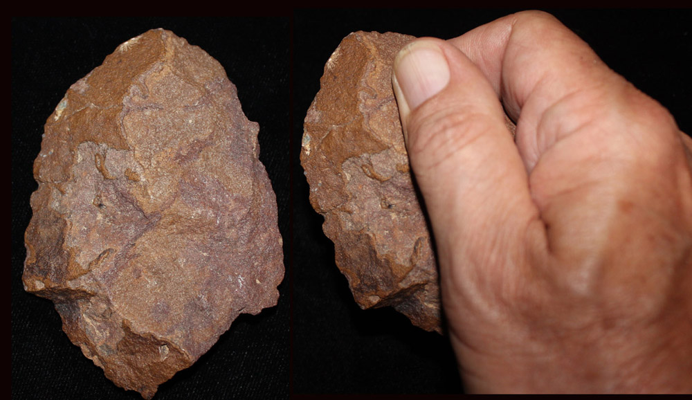 Paleo-Indian (Early Man) Hand Axe, c. 10,000 BC