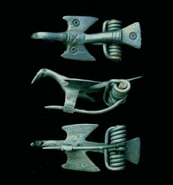 Brooch, Zoomorphic Bird, 2nd Cent AD, Stunning!