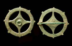 Brooch, Disk, Open-work, c. Mid-Late 1st Cent. AD