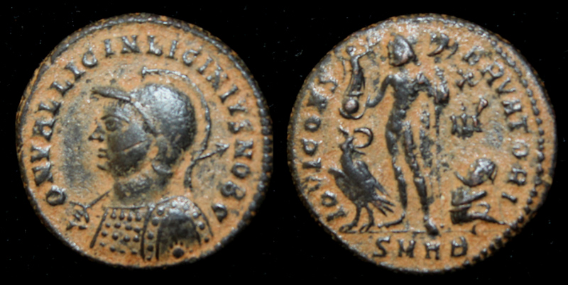 Licinius II Helmeted Issue