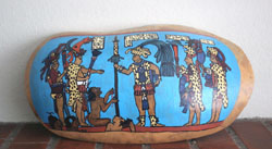 Gourd Art, Maya, Tortured Captives, Bonampak