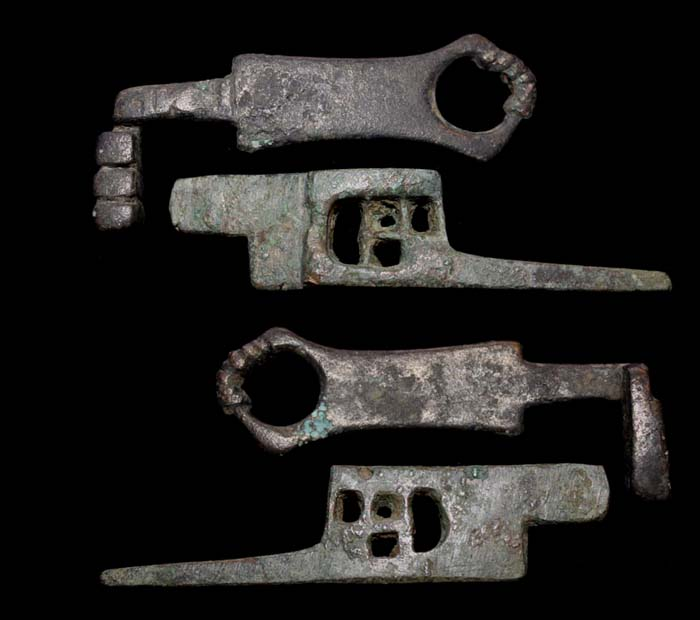 Key and Lock Part, Roman, c. 1st-3rd Cent