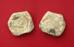 Roman Lead Tessera with Leaping Lion!
