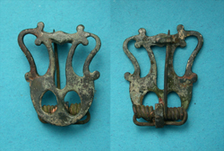 Brooch, Lyre type, c. 2nd-3rd Cent AD
