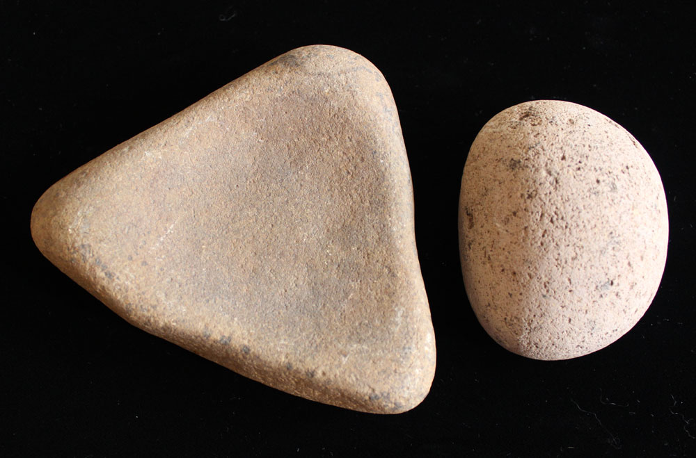 Mano and Metate, Four Corners Area, Matched Pair