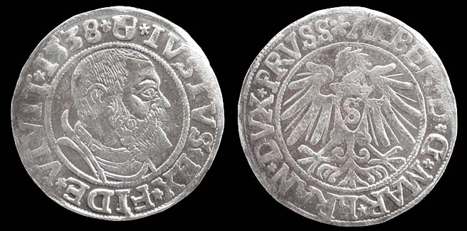 Albert of Prussia, Ar Gross, 1532, Superb