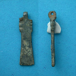 Strap End, Nail-cleaner type, 4th-5th Cent