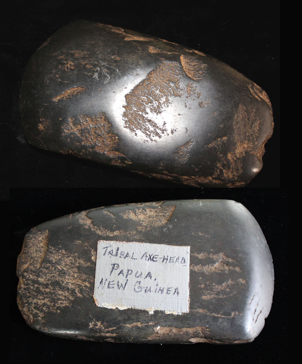 Papua New Guinea Tribal Hand Axe