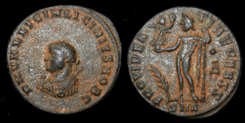 Licinius II (Jr) Jupiter Reverse