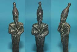 Ancient Egypt, Osiris Figurine, Late Period, c. 664 -332 BC SOLD!