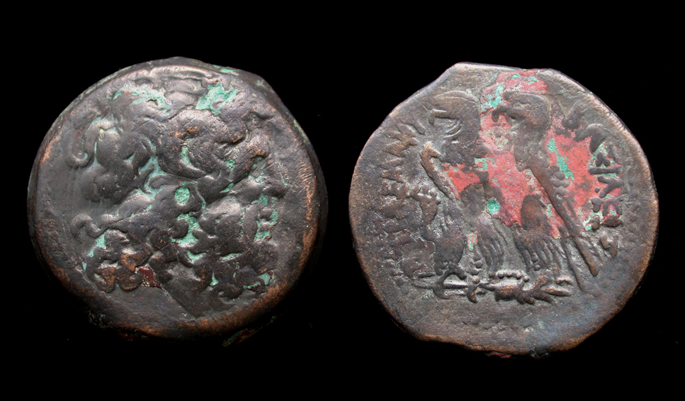 PTOLEMAIC KINGS of EGYPT  Ptolemy VI & Ptolemy VIII Joint Reign