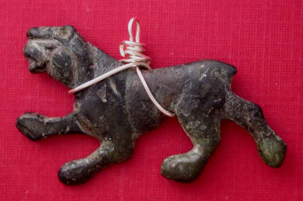 Celtic Tribes Panther Necklace Pendant, ca. 2nd-1st Cent BC SOLD!