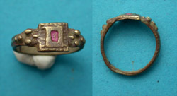 Ring, Medieval, Ladies, Wedding Band, ca. 16th-18th Cent