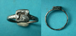 Ring, Byzantine, Men's, Resurrection Intaglio