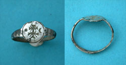 Ring, Crusader-era, Pilgrims, c. 11th-13th Cent.