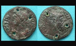 Belt, Adornment, Roman Provincial Coin!