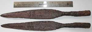 Spear Point, Iron, Socketed, c. 1st-3rd Century #1