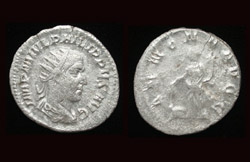 Philip I, the Arab, Antoninianus, Annona reverse