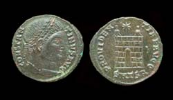 Constantine I, Campgate, Thessalonica Mint