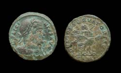 Licinius I, Arles Mint, Emperor Flying on Eagle reverse, Rare 3